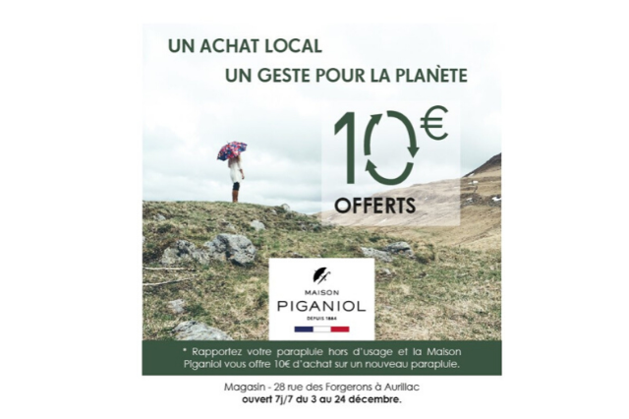 MAISON PIGANIOL - Un achat local