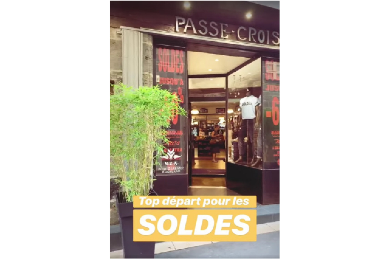 PASSEE CROISEE - SOLDES